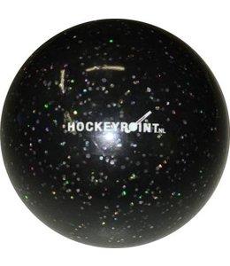 Hockeypoint Hockeyball Glitzer Schwarz