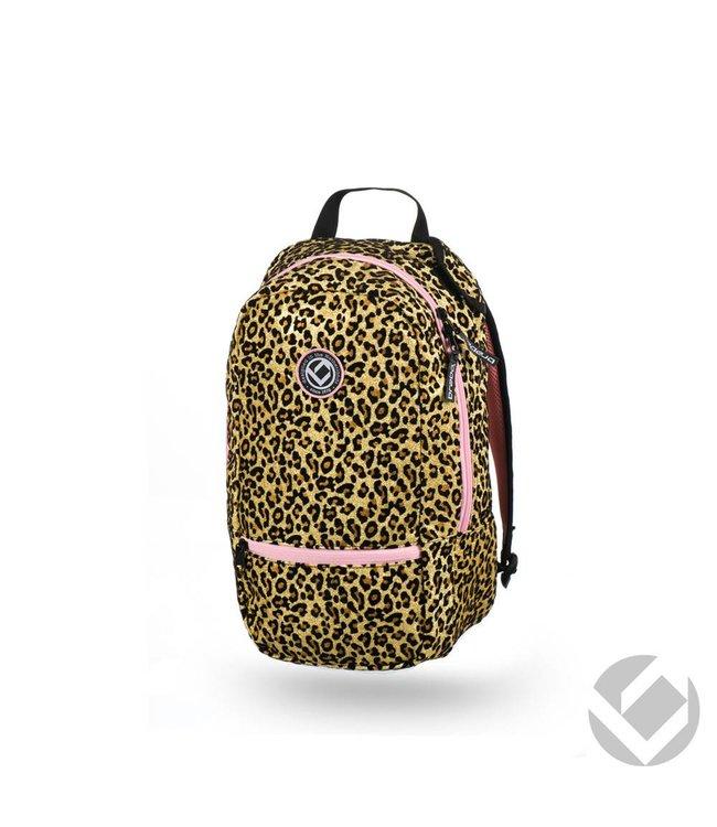 Brabo Backpack Junior Glitter Cheetah
