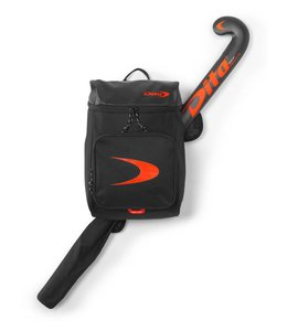 Dita Backpack Hockey Champs Fluo Rot/Schwarz
