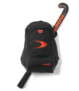 Dita Backpack Original Edition Fluo Rot/Schwarz