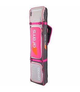 Grays GR500 Sticktas Grau/Silber/Pink