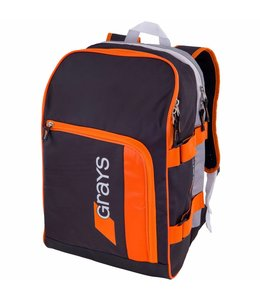 Grays GR500 Rugzak Zwart/Zilver/Oranje