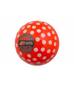 Grays Ball Polka Orange/Weiß