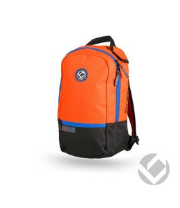 Brabo Backpack Junior Team TC Zwart/Oranje/Blauw