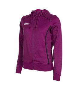 Reece Core TTS Hooded Sweat Full Zip Ladies Violett/Schwarz