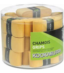 Kookaburra Chamois Grip - Yellow (sold in Candy Box of 25)