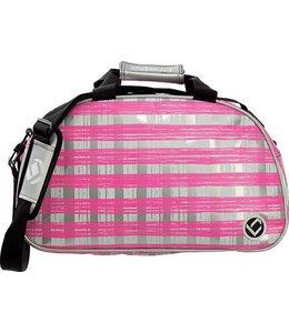 Brabo Shoulderbag Squares Silber/Pink