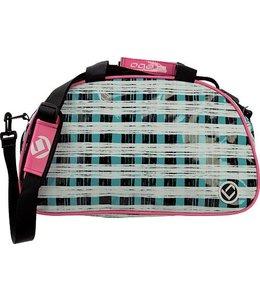 Brabo Shoulderbag Squares Turqoise/Pink
