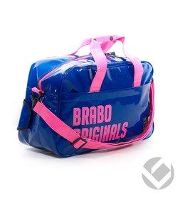 Brabo Shoulderbag DeLuxe Originals Navy/Roze