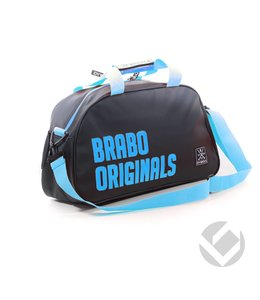 Brabo Shoulderbag Originals Schwarz/Blau