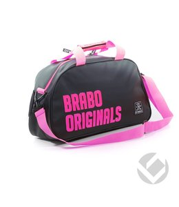 Brabo Shoulderbag Originals Schwarz/Pink