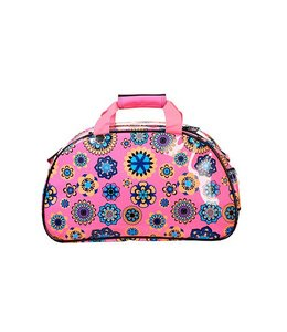 Brabo Shoulderbag Flowers Pink/Lime