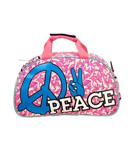 Brabo Shoulderbag Peace Pink/Blau