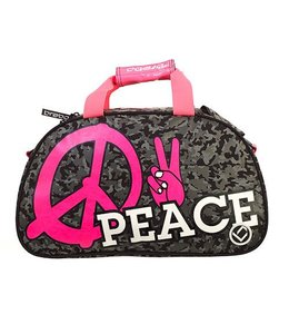 Brabo Shoulderbag Peace Schwarz/Pink
