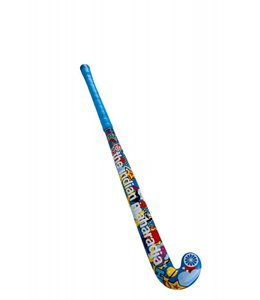 Indian Maharadja Stickerbomb blue wood