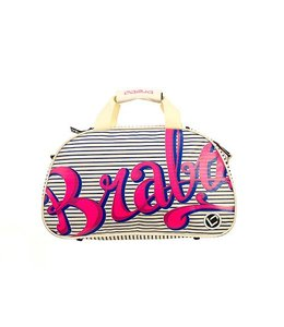 Brabo Shoulderbag Comic Navy/Pink