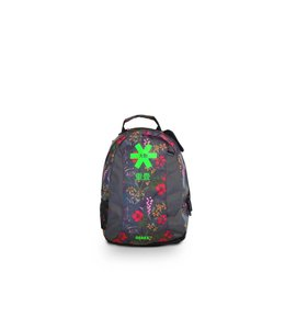 Osaka SP Junior Backpack - Grijs Flowers/Groen