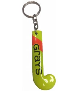Grays Keyring Stick Geel