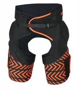 Grays G700 Padded Shorts Schwarz/Orange