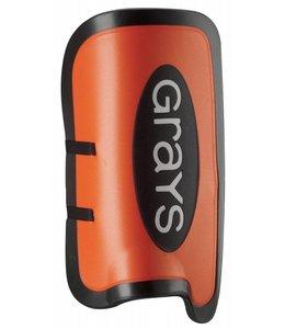 Grays G500 Legguards Schwarz/Orange