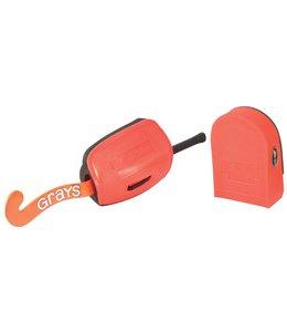 Grays G500 Handprotectors Schwarz/Orange