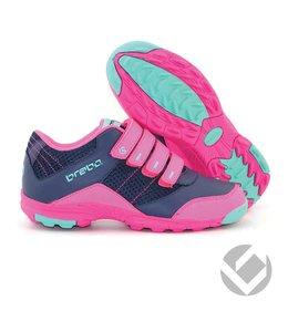 Brabo Velcro shoe Navy/Pink/Aqua
