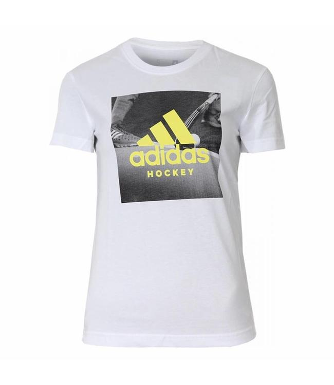 Adidas Graphic Tee Women Weiss