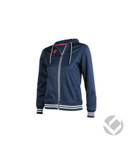 Brabo Womens Tech Hooded Navy