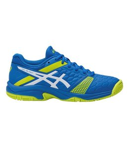 Asics GEL-BLAST 7 GS Indoor Kids, Blauw/Lime