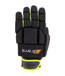 Grays G600 Glove Links Schwarz/Neon Gelb