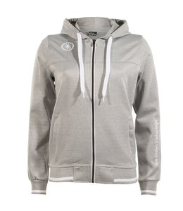 Indian Maharadja Women's tech hooded Grau