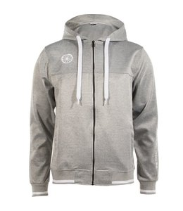 Indian Maharadja Men's tech hooded Grau