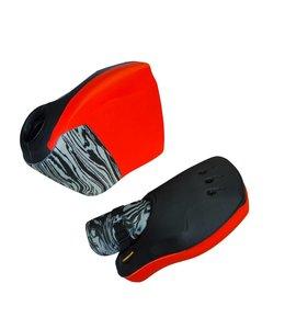 Obo Robo Hi-Rebound Handprotector Rood/Zwart Set