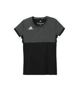 Adidas T16 'Oncourt' short sleeve shirt Girls zwart