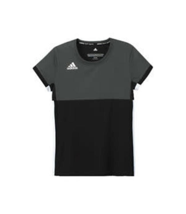 Adidas T16 'Oncourt' short sleeve shirt Girls schwarz