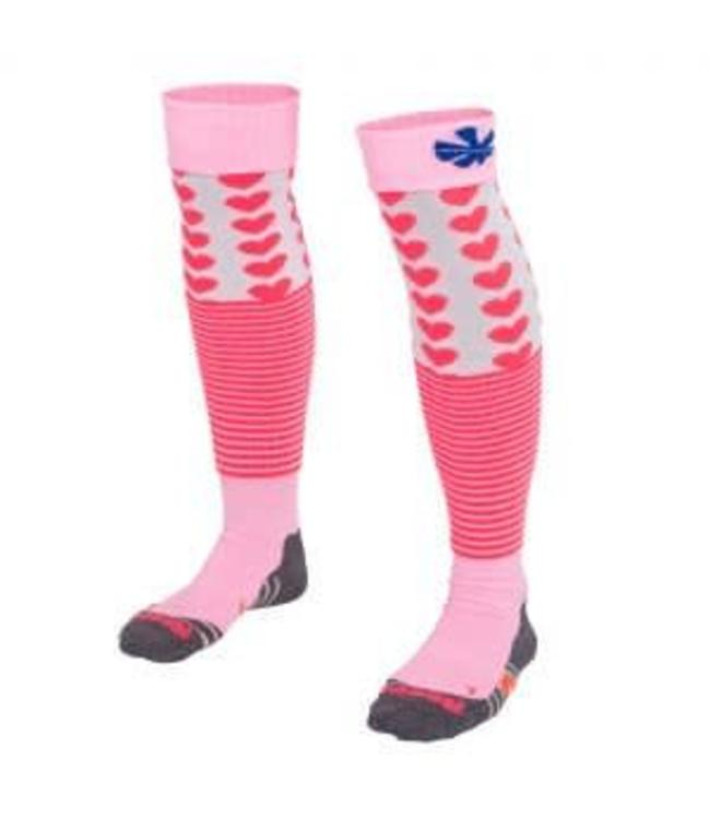 Reece Curtain Socken Pink/Weiss/Blau