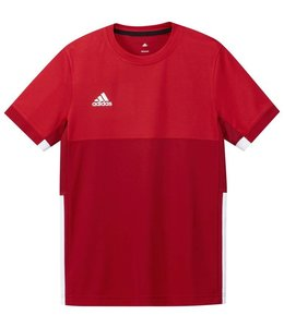 Adidas T16 Short Sleeve Tee Boys Rood
