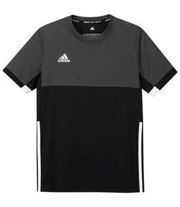 Adidas T16 Short Sleeve Tee Boys Zwart