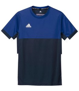 Adidas T16 Short Sleeve Tee Boys Navy