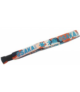Osaka Bracelet Blau/Orange Camo