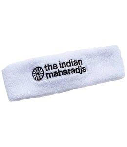 Indian Maharadja Headband Weiss