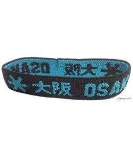 Osaka Bracelet Elastic Blau/Schwarz