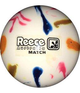 Reece Match Ball White Rainbow Glitter