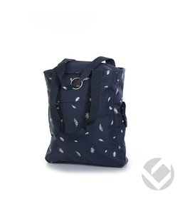 Brabo Tote Bag Feathers Blau