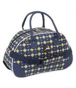 Stag Fashion Bag Karo Blau