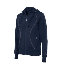 Reece Dames Hooded Full Zip Sweatvest Blau
