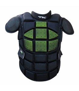 TK Total Two 2.1 Bodyprotector Zwart/Groen