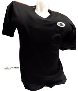 Obo Goalieshirt Short Sleeve Zwart/Oranje