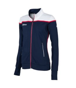 Reece Varsity Jacket FZ Ladies Navy/Wit
