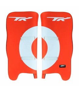 TK Total Three GLX 3.2 Legguards Orange/Weiss